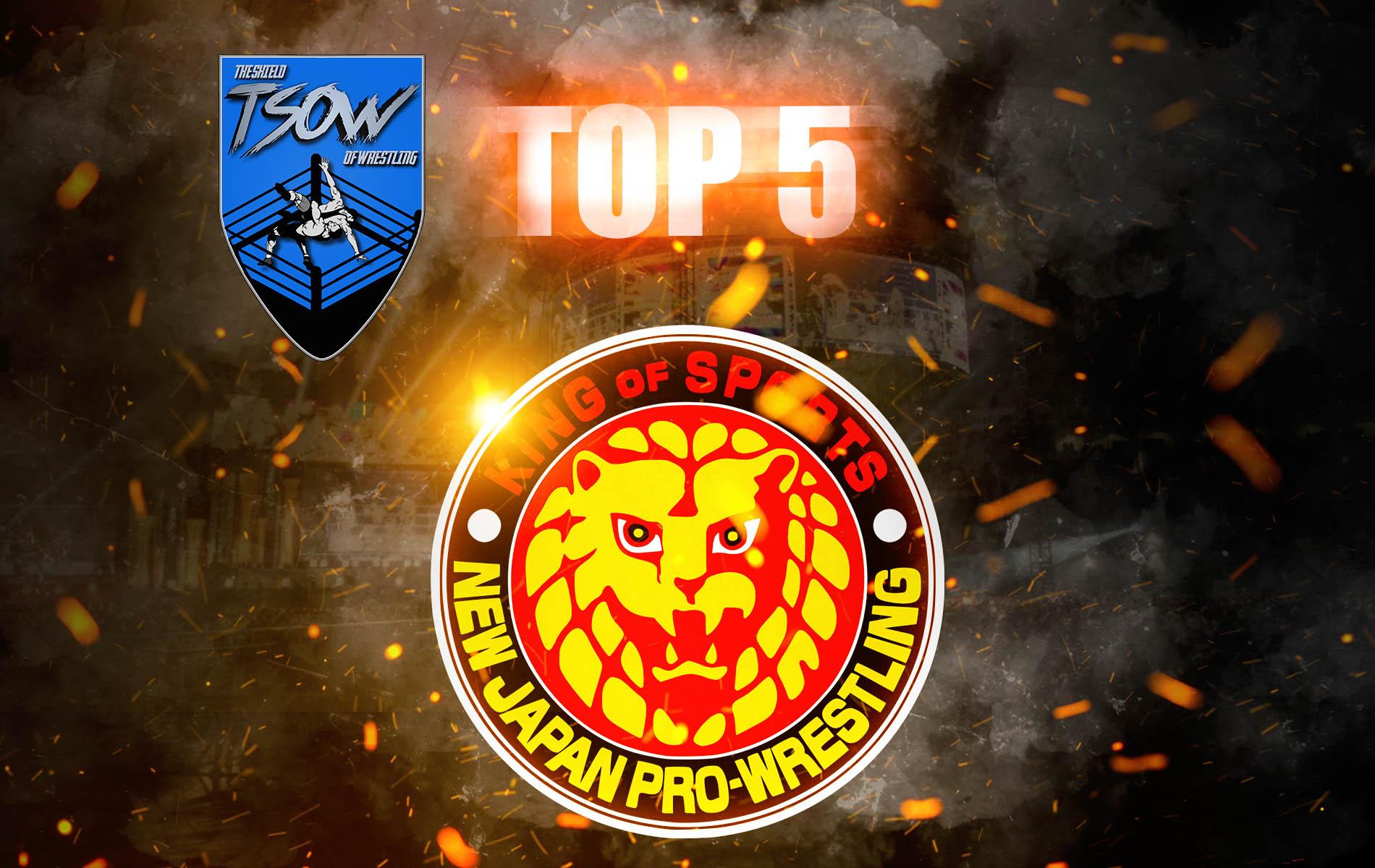 NJPW   5 MIGLIORI MOMENTI dell'anno