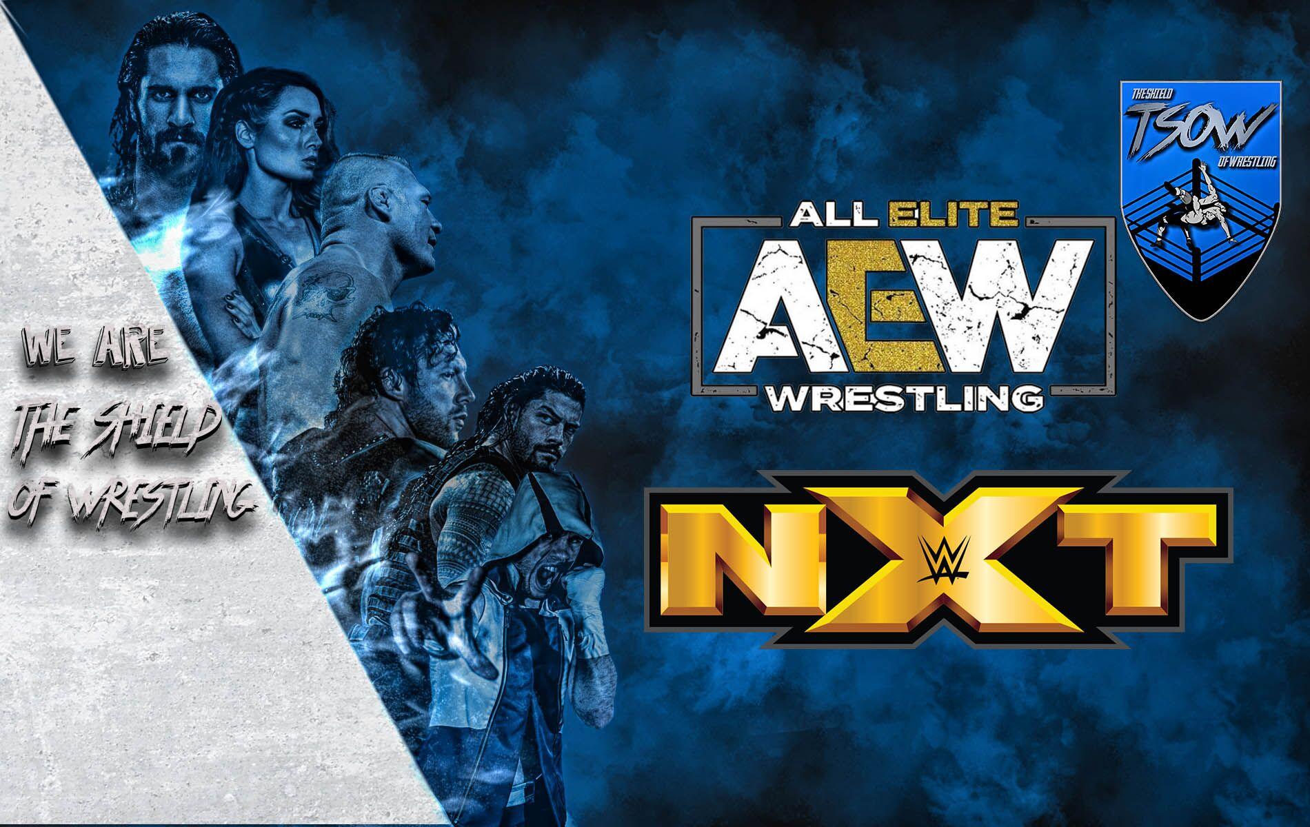 AEW vs NXT | Dynamite sconfitto per la seconda volta consecutiva