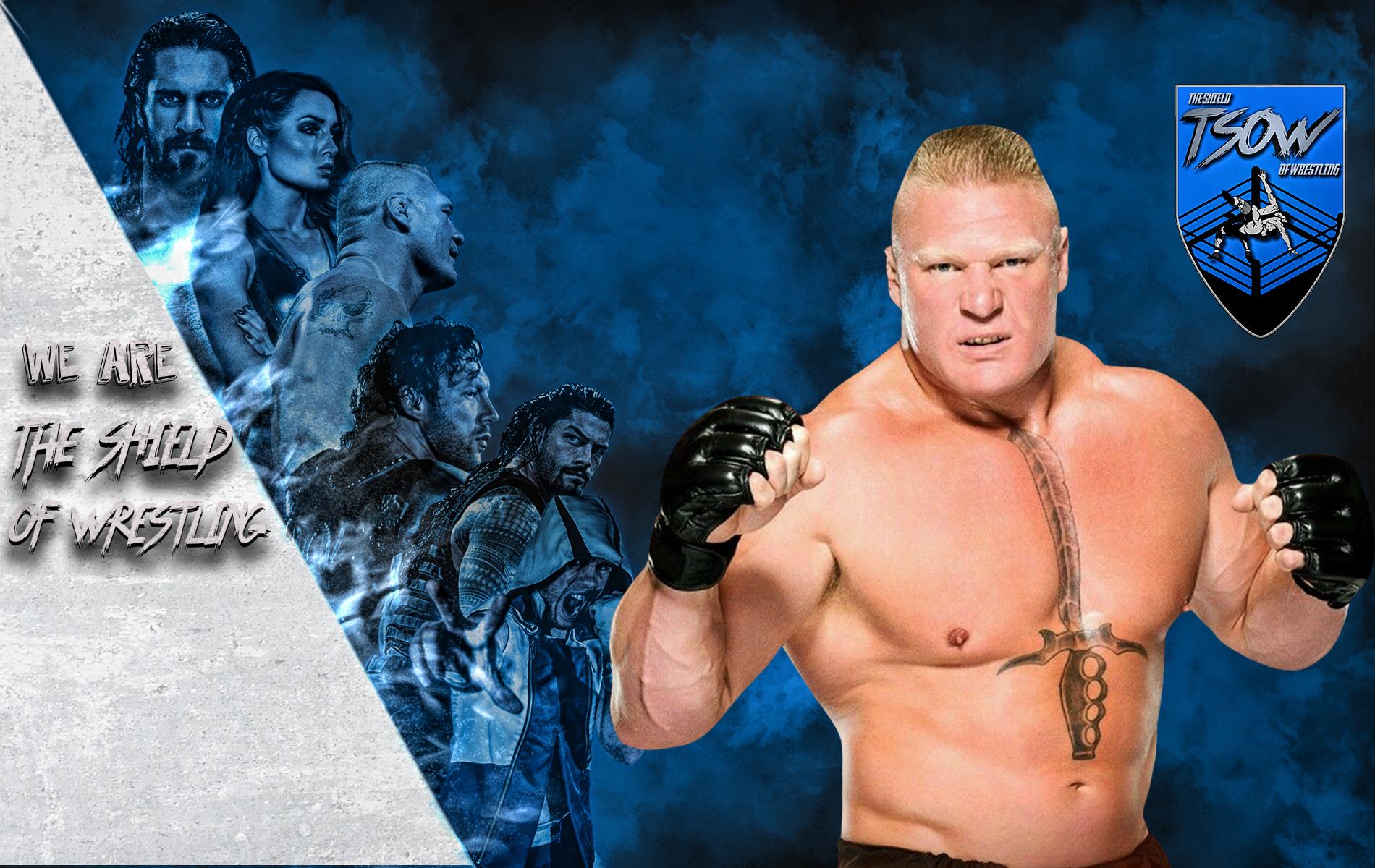 Brock Lesnar contestato
