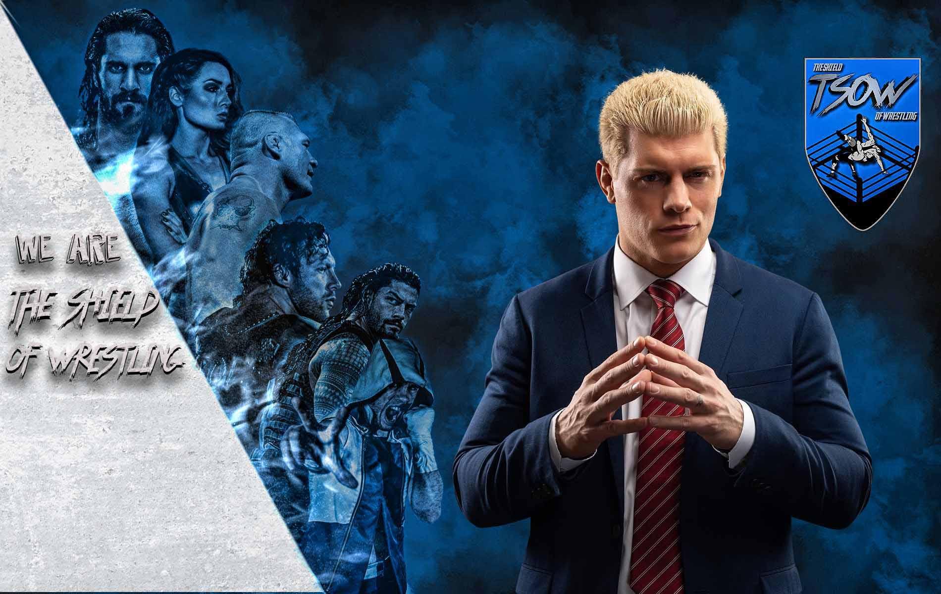 Cody Rhodes - Rilascio dalla WWE