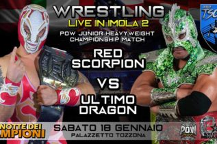 Wrestling Megastars Red Scorpion vs Ultimo Dragon
