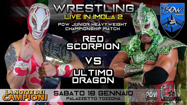 Wrestling Megastars Red Scorpion vs Ultimo Dragon