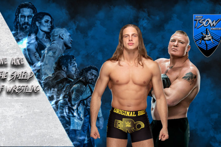 litigio tra Matt Riddle e Brock Lesnar