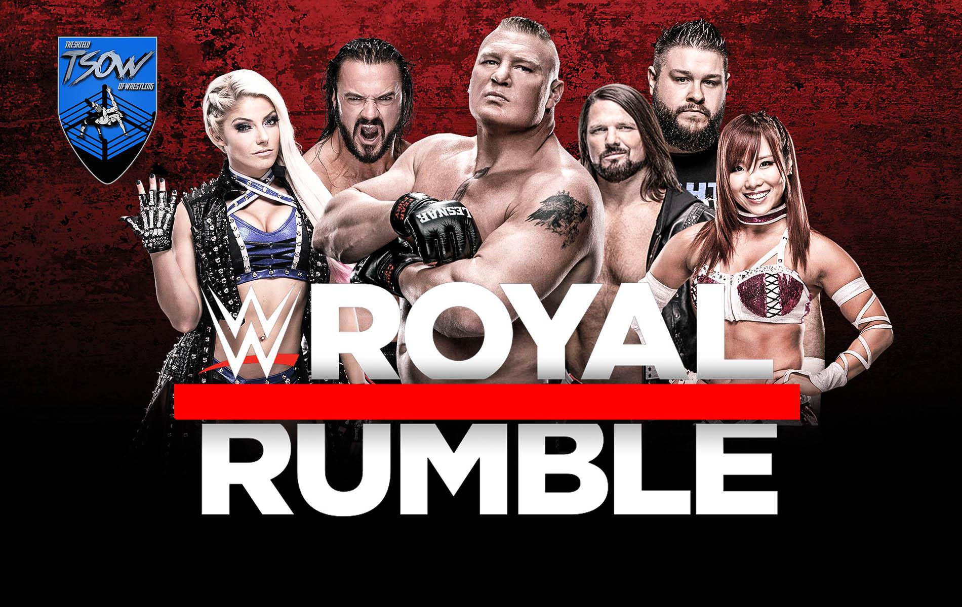 Royal Rumble 2020 streaming