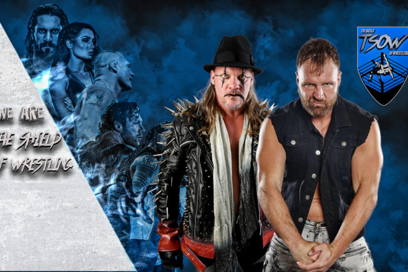 Chris Jericho Jon Moxley AEW Revolution