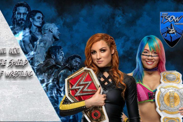Becky Lynch vs Asuka - WWE RAW