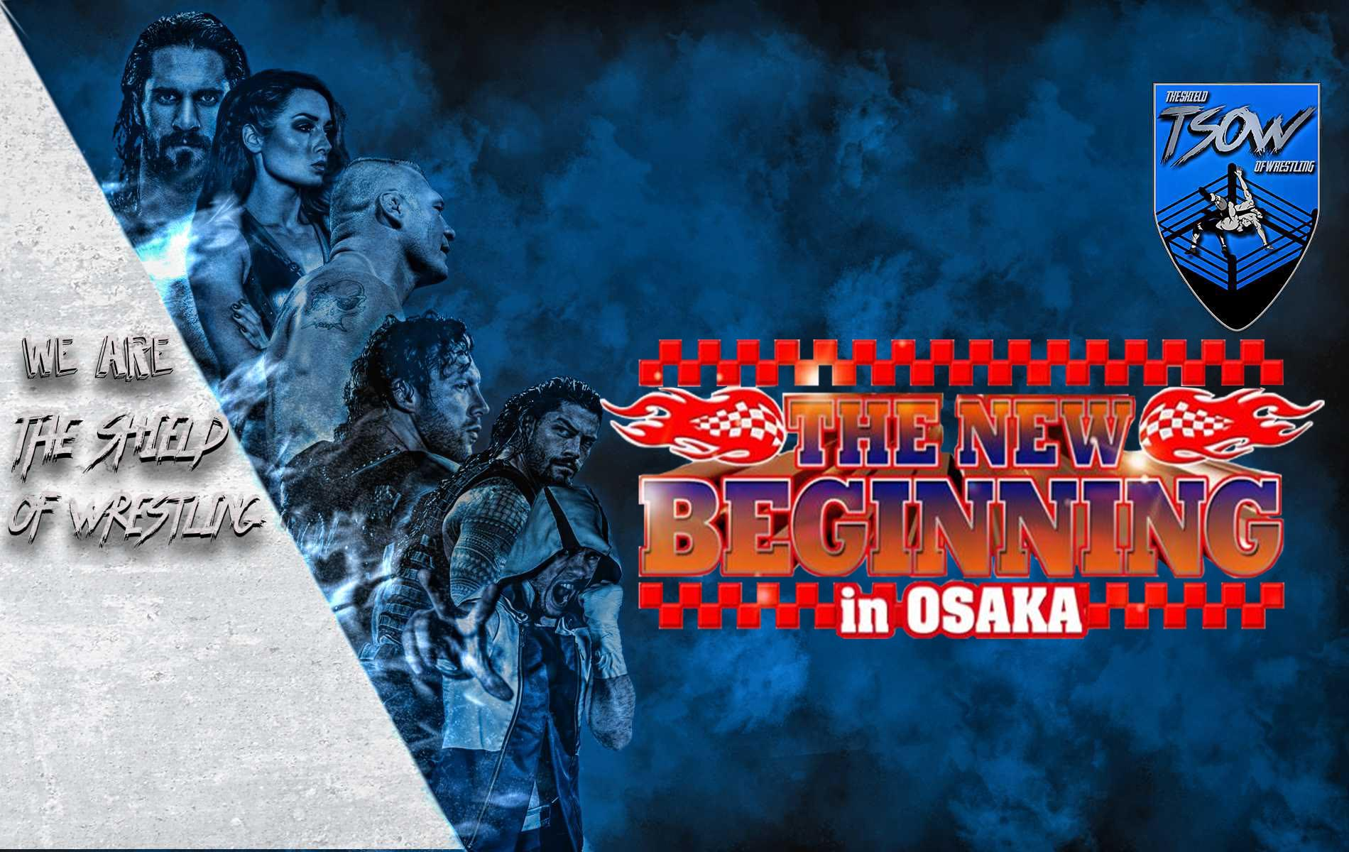 Review The New Beginning in Osaka