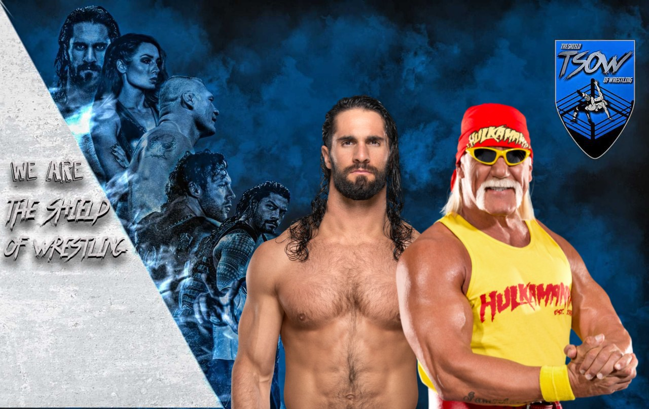 Seth Rollins - Hulk Hogan - WrestleMania 37