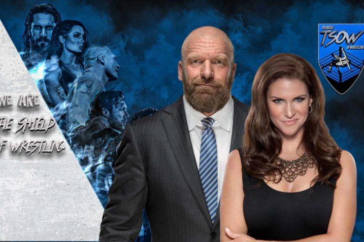 Wall Street - Triple H e Stephanie McMahon - WWE