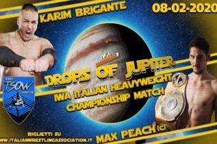 IWA SMASH Drops Of Jupiter