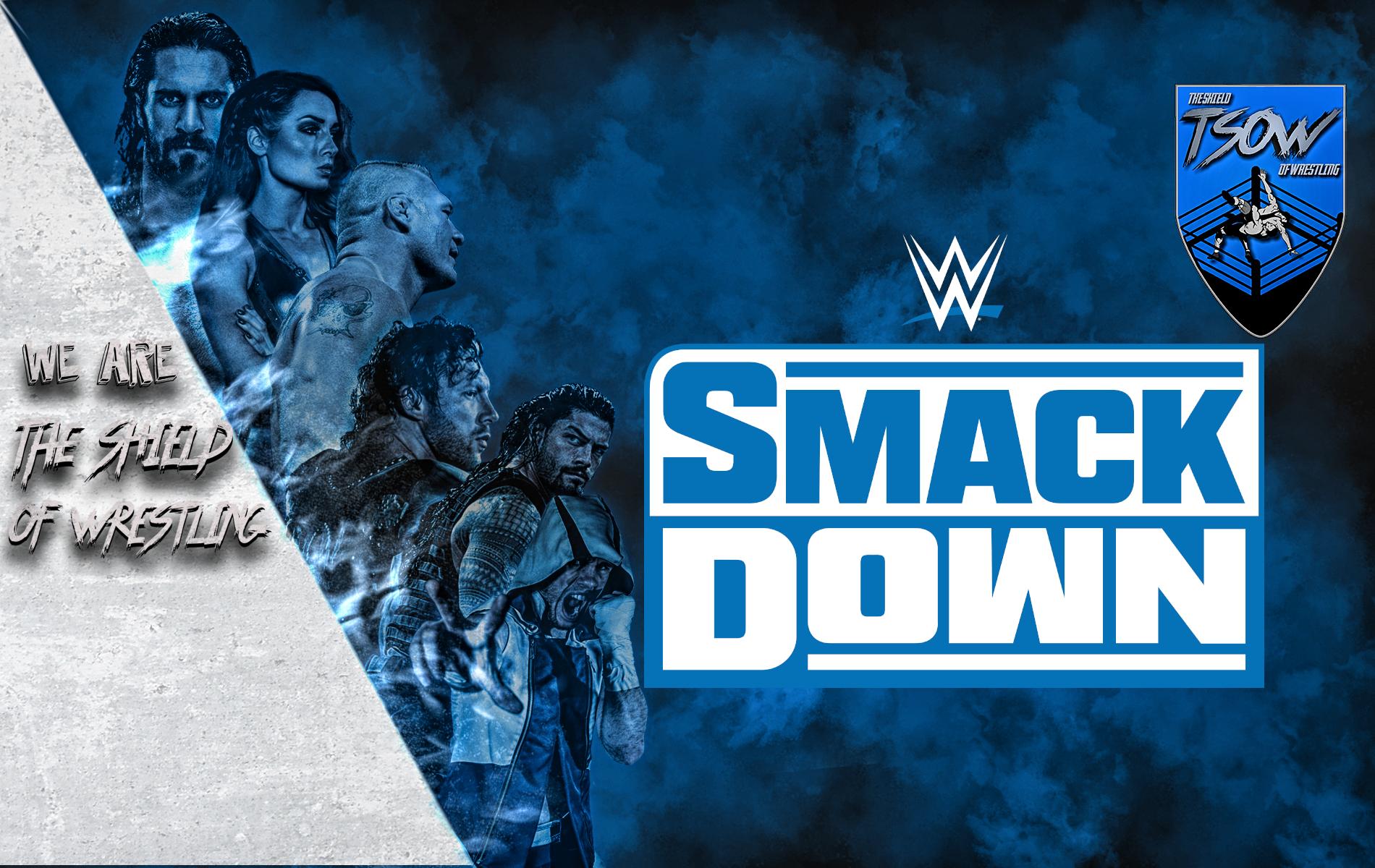 SmackDown Risultati 21-02-2020