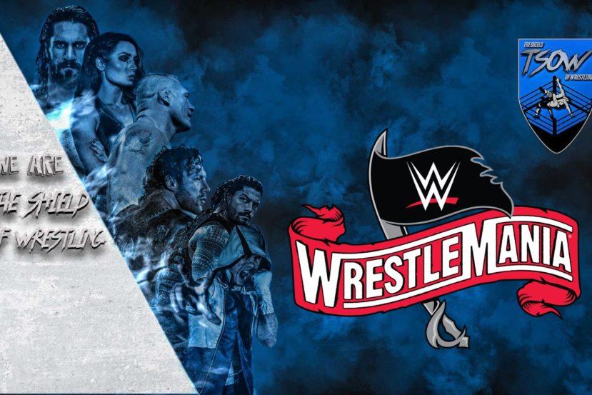 Card di WrestleMania 36
