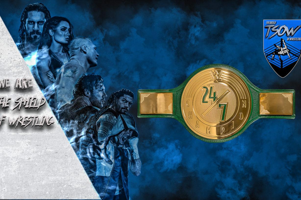 Un nuovo campione 24/7 a WrestleMania!