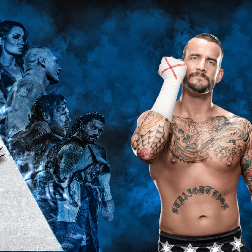 CM Punk - Brock Lesnar