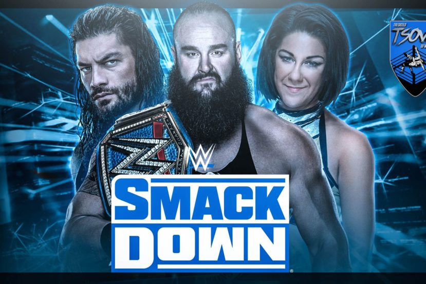 Report SmackDown 28-08-2020