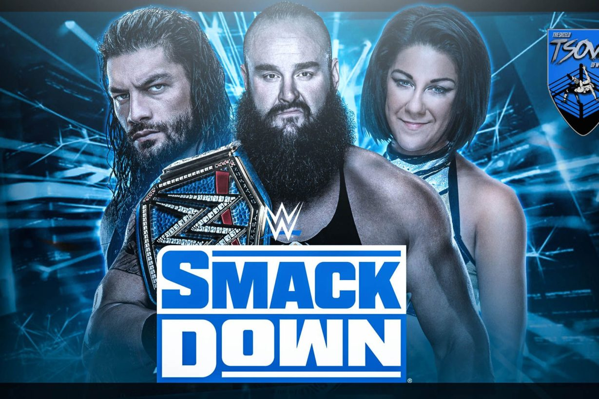 Report SmackDown 14-08-2020