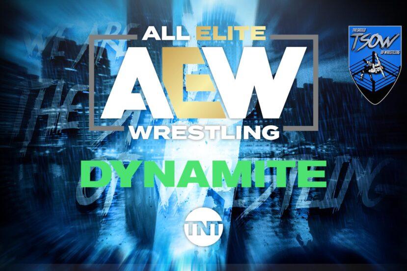 AEW Dynamite: modificato un match della prossima puntata