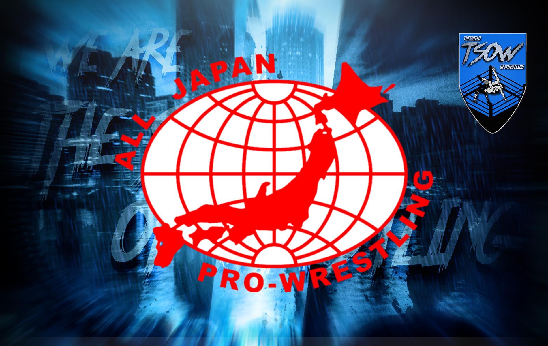 AJPW: annunciati i partecipanti della Real World Tag League