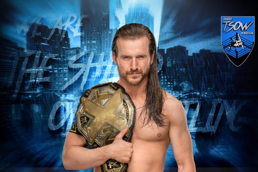 Adam Cole vorrebbe cambiare nome all'NXT Championship