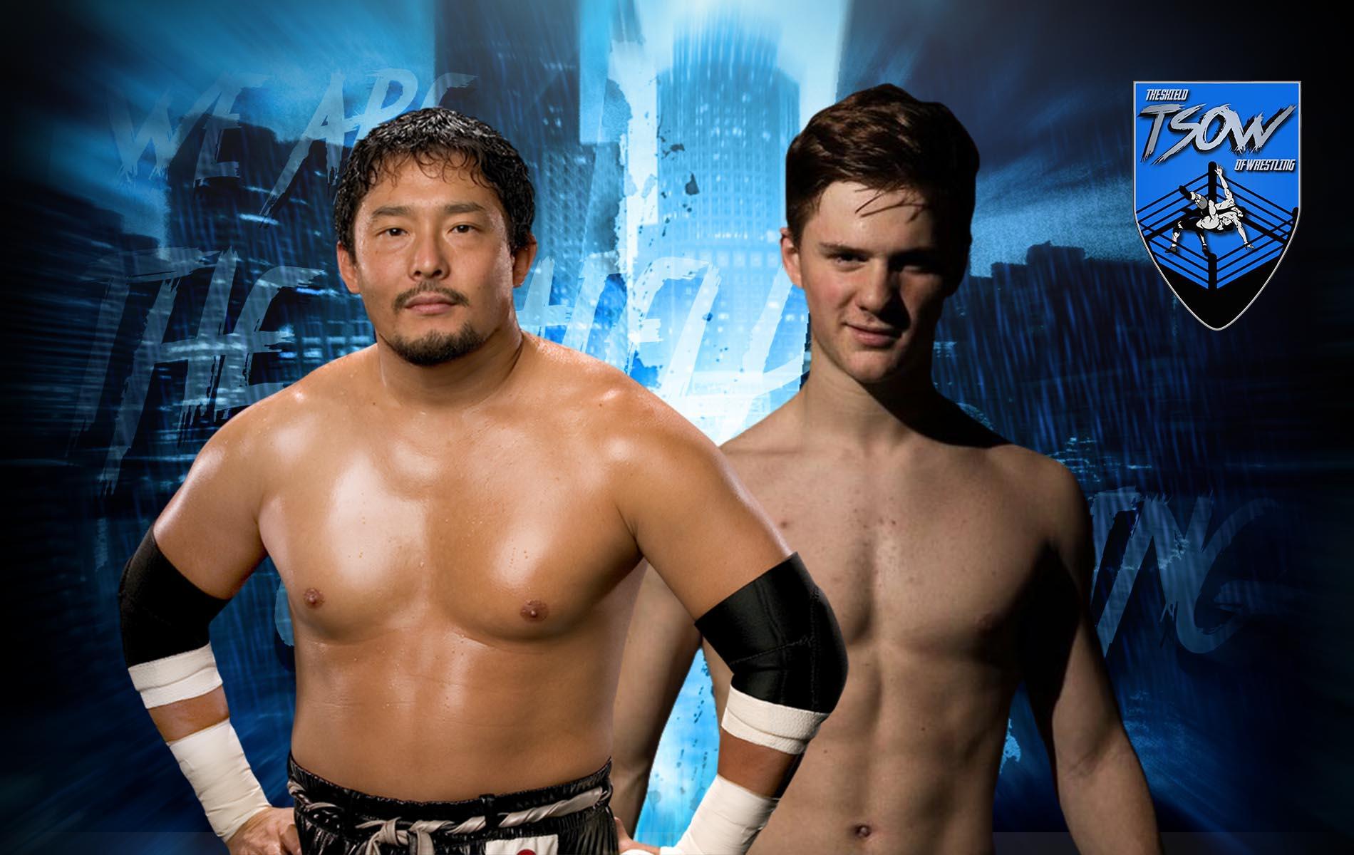 Akira batte TAJIRI nell'AJPW 2021 Jr. Battle of Glory