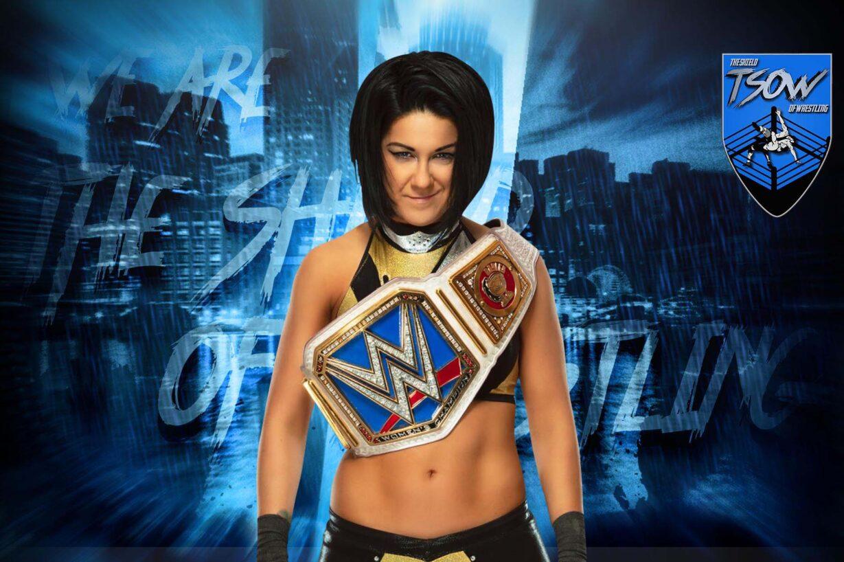 Bayley mostra i segni dell'attacco di Sasha Banks a Clash of Champions