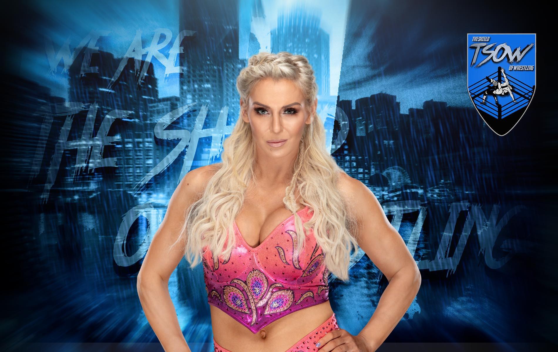 Charlotte Flair commenta la storyline con Lacey Evans