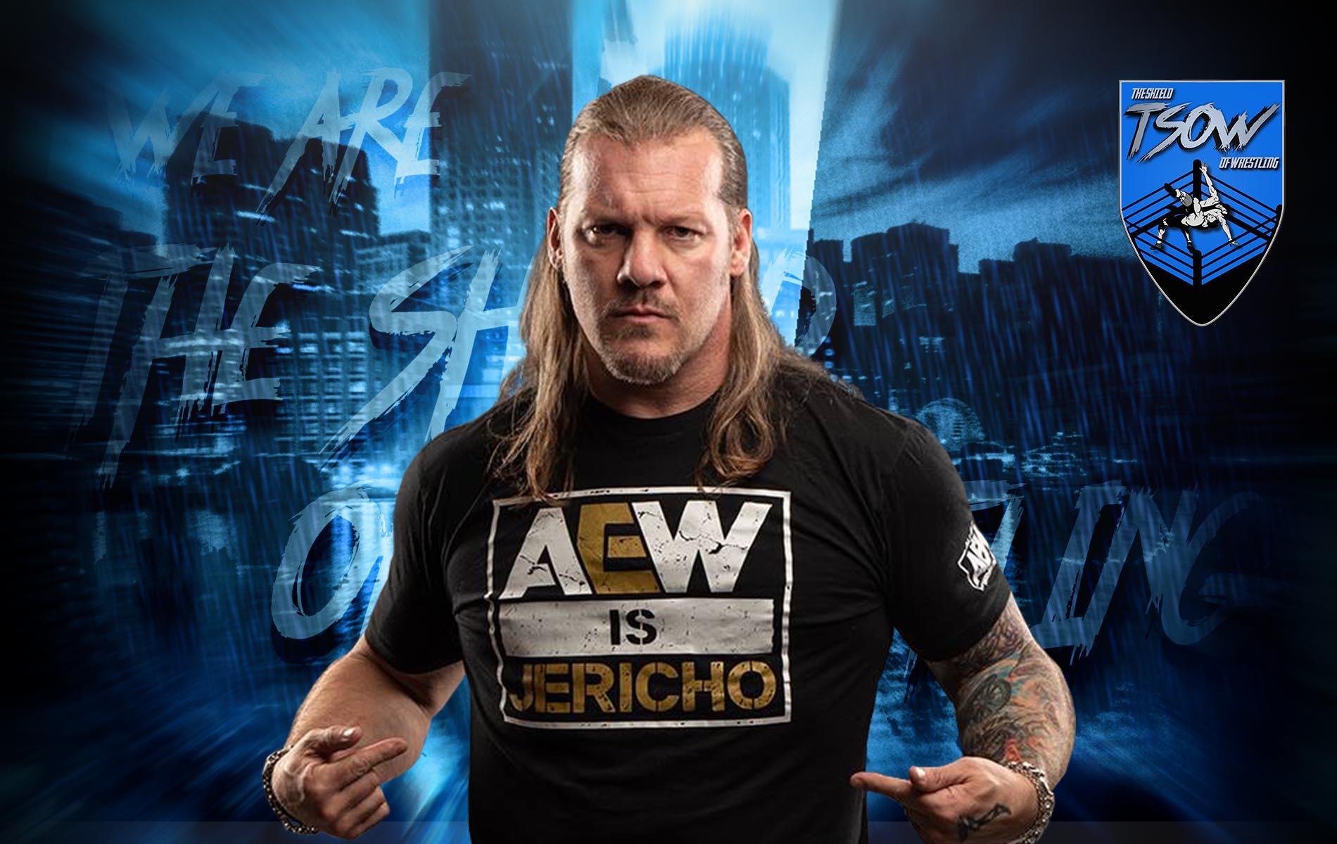 Chris Jericho si è rotto il gomito a AEW Blood and Guts?