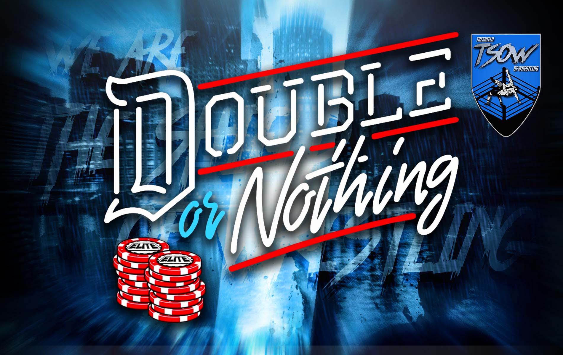 Double Or Nothing 2021: annunciato match titolato per il Buy In