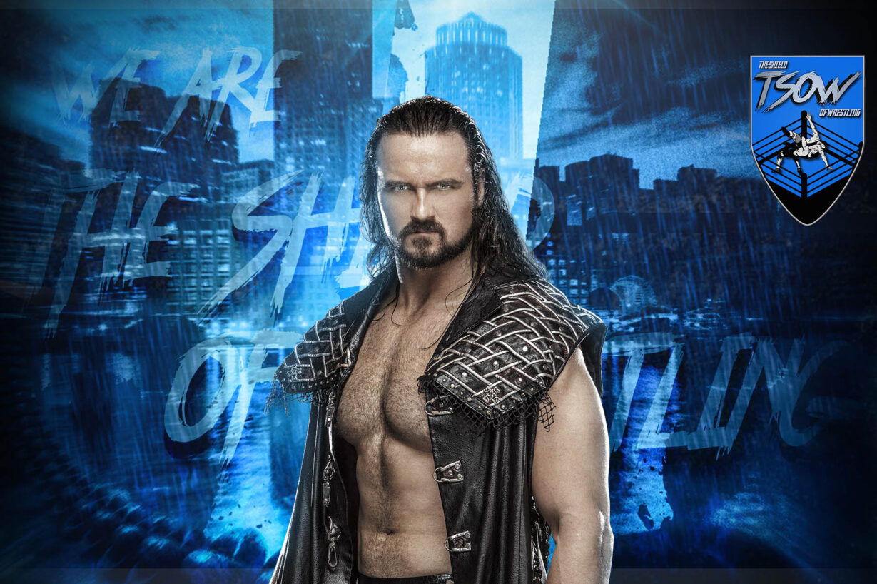Drew McIntyre ufficialmente disponibile per la WWE