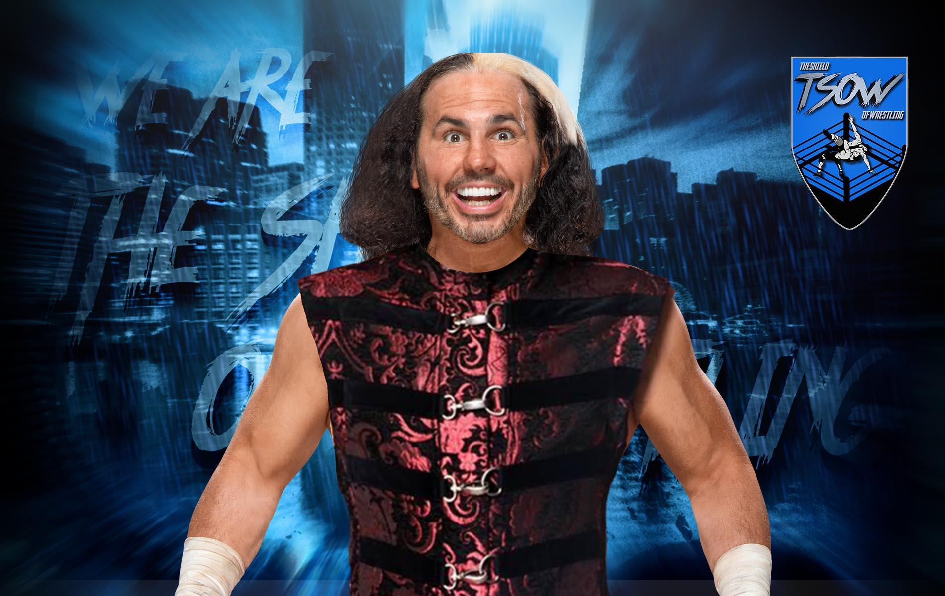 Matt Hardy minaccia Christian e nomina Edge