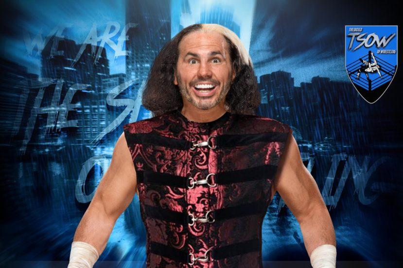 Matt Hardy commenta l'attacco di Sammy Guevara a AEW Dynamite