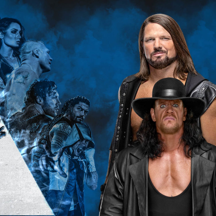 The Undertaker AJ Styles - Boneyard Match