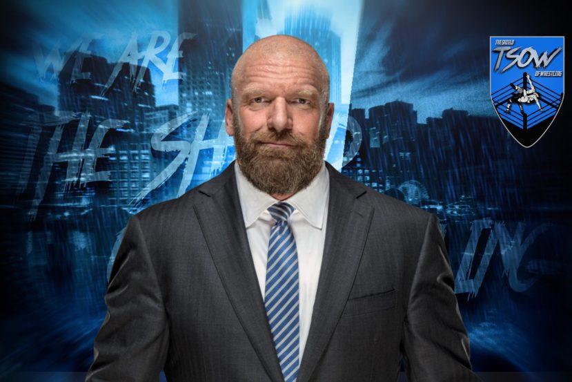 Triple H e l'origine della Pedigree