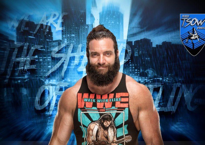 Elias investito a SmackDown: quali sono le sue condizioni?