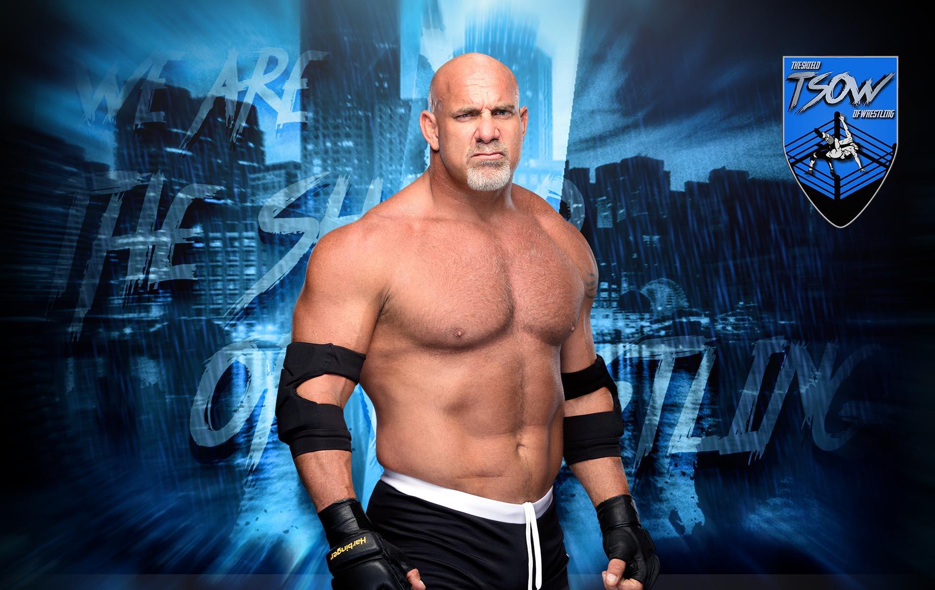 Goldberg apre al match contro Cesaro