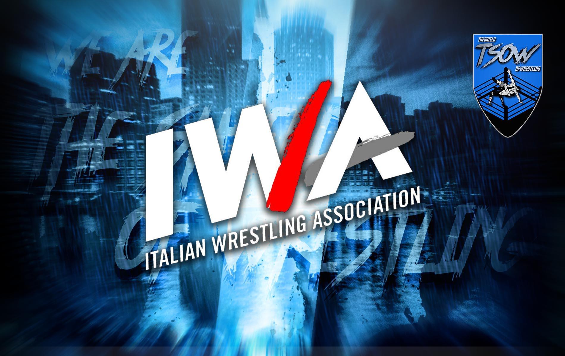 Max Peach infortunato: IWA rende vacante il Titolo Italiano Pesi Massimi