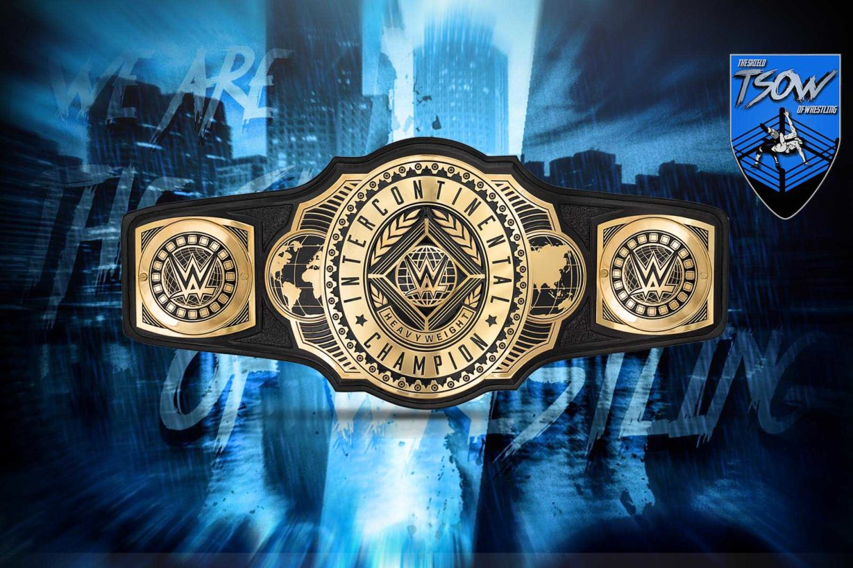 Titolo Intercontinentale reso vacante dalla WWE