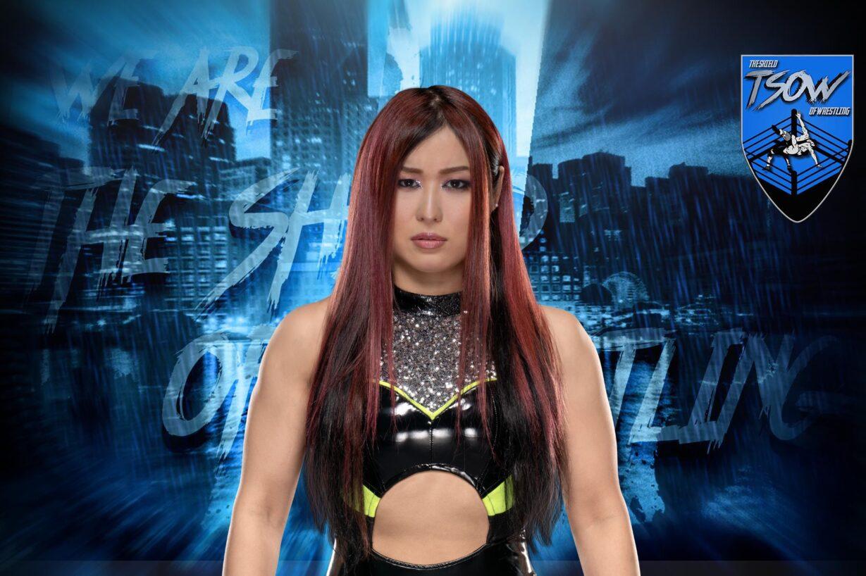 NXT TakeOver WarGames: il folle volo di Io Shirai