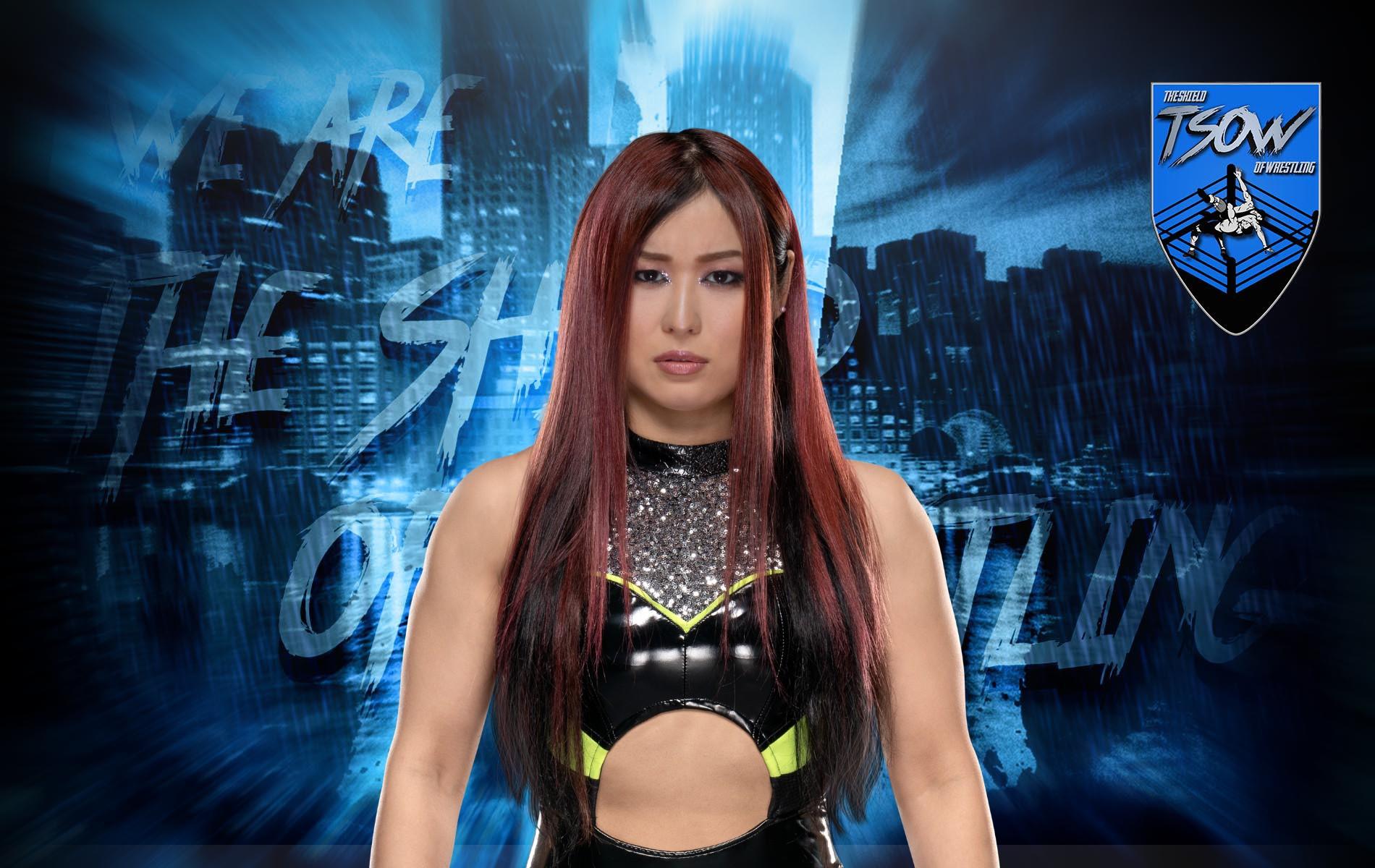 Io Shirai fa il suo ritorno ad NXT