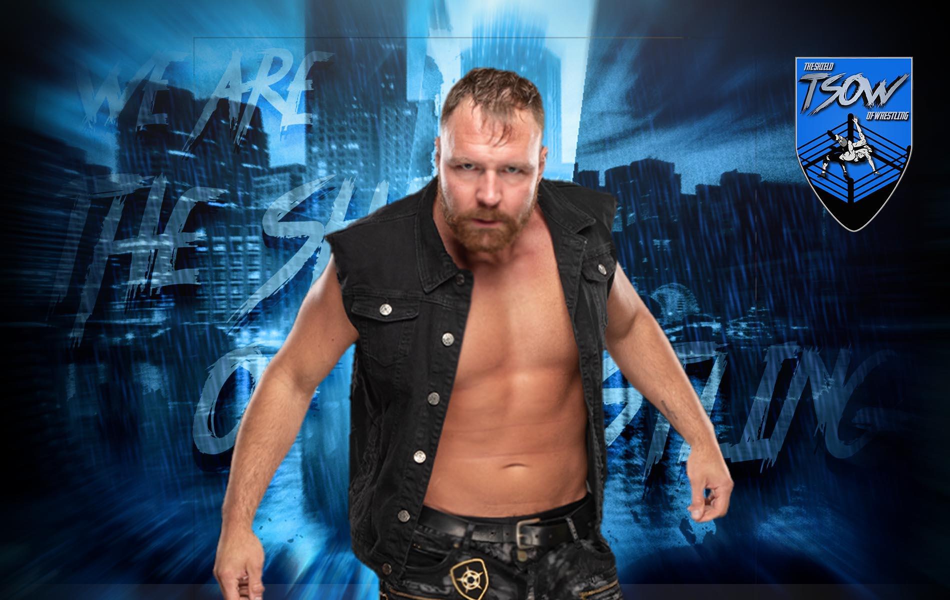 Jon Moxley è apparso a Wrestle Kingdom 15
