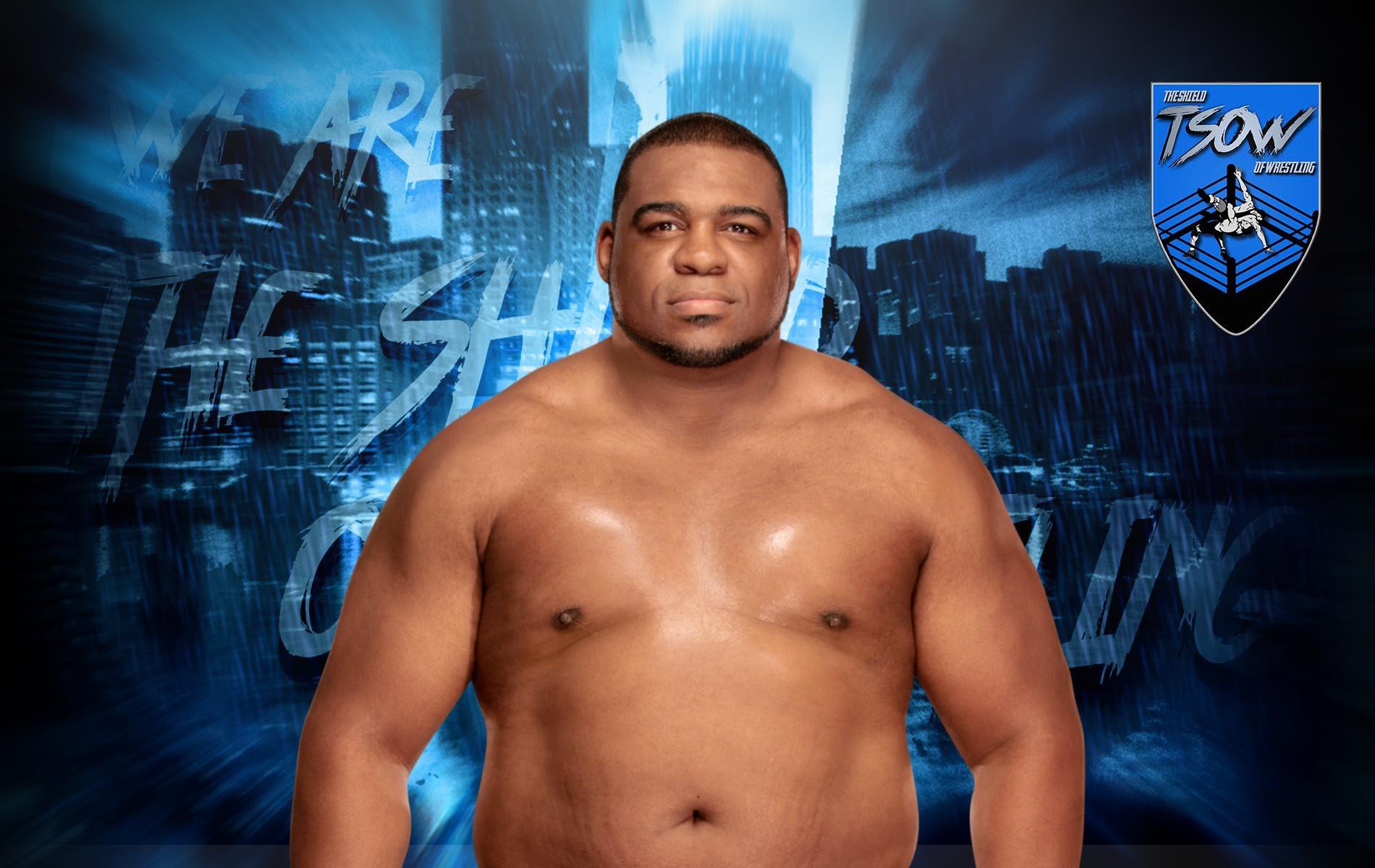 Keith Lee rilasciato dalla WWE