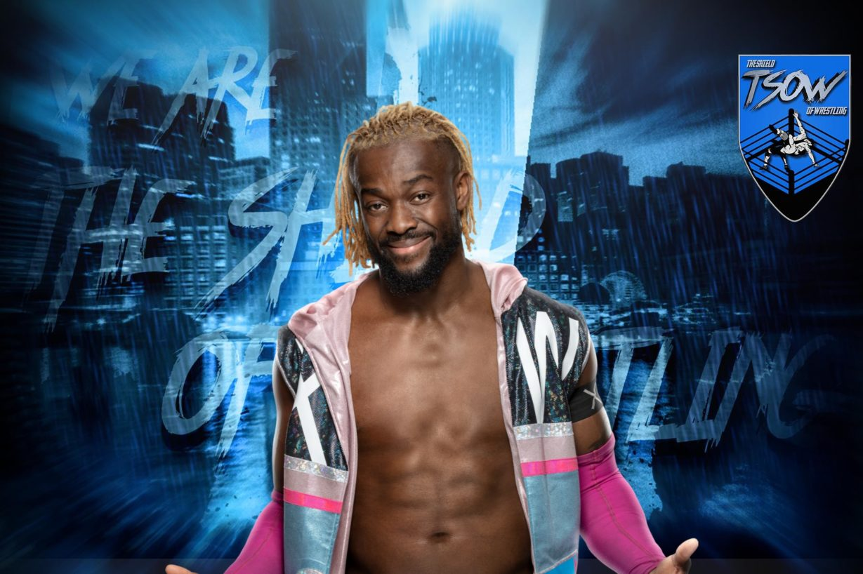Kofi Kingston poteva usare il body paint come Jeff Hardy