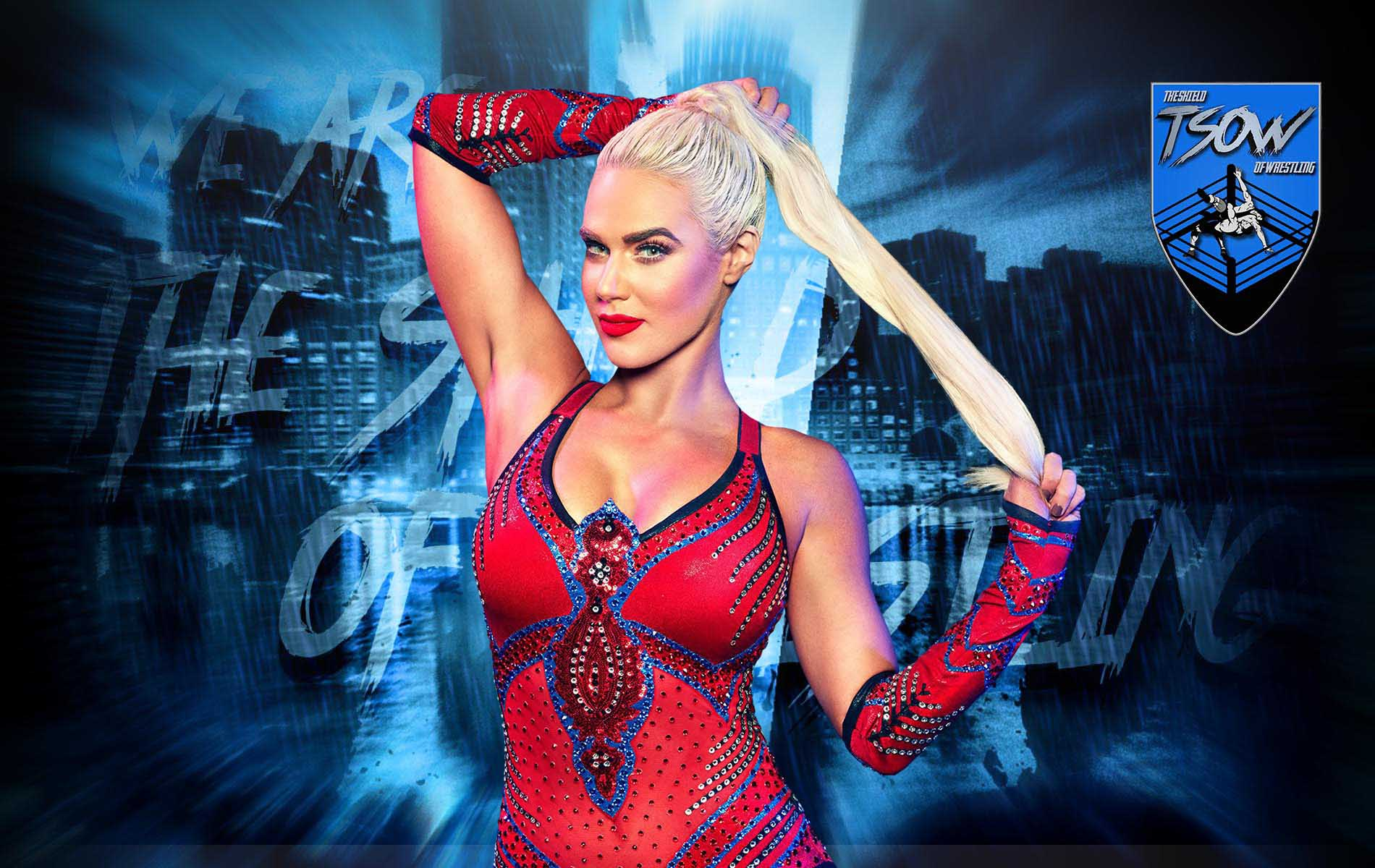 Lana rilasciata dalla WWE