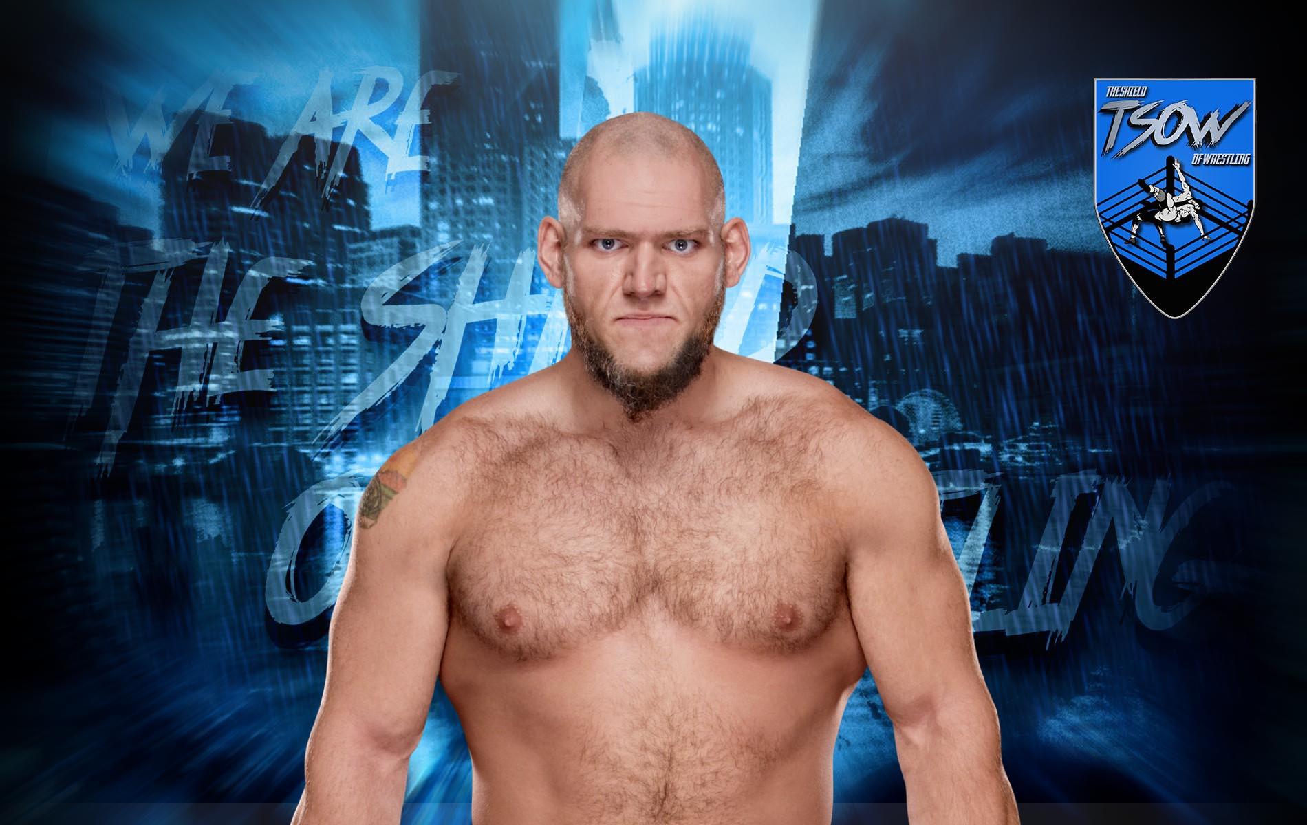 Lars Sullivan torna a SmackDown