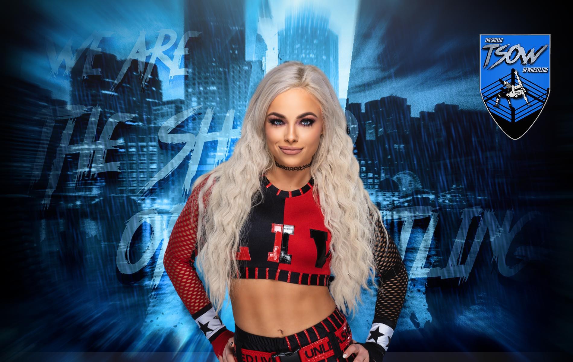 Liv Morgan: la WWE cambia i piani previsti per lei