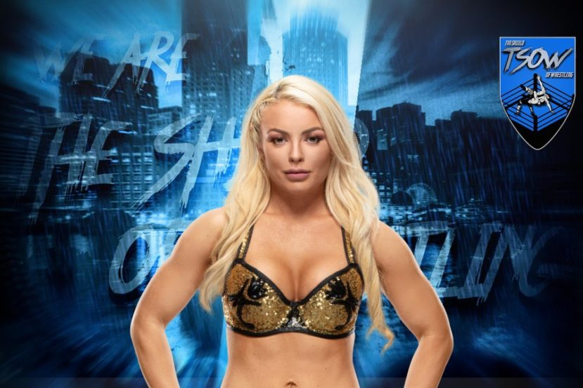 Mandy Rose: incidente hot durante Friday Night SmackDown