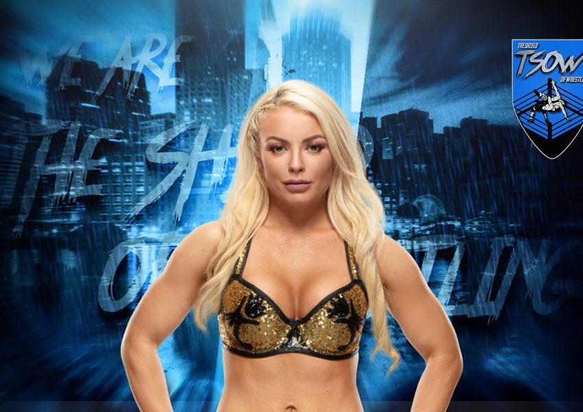 Mandy Rose: incidente hot durante Friday Night SmackDown