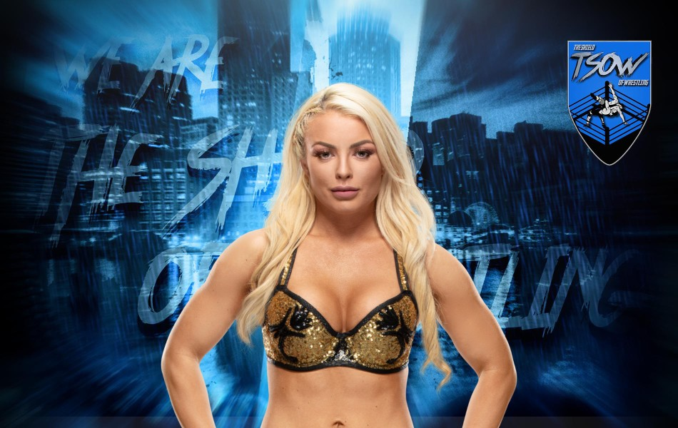 Mandy Rose: macabro infortunio rimediato a SmackDown