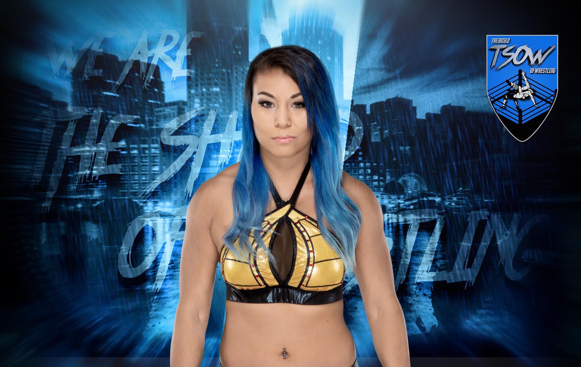 Mia Yim: cancellato il suo debutto a Throwback SmackDown