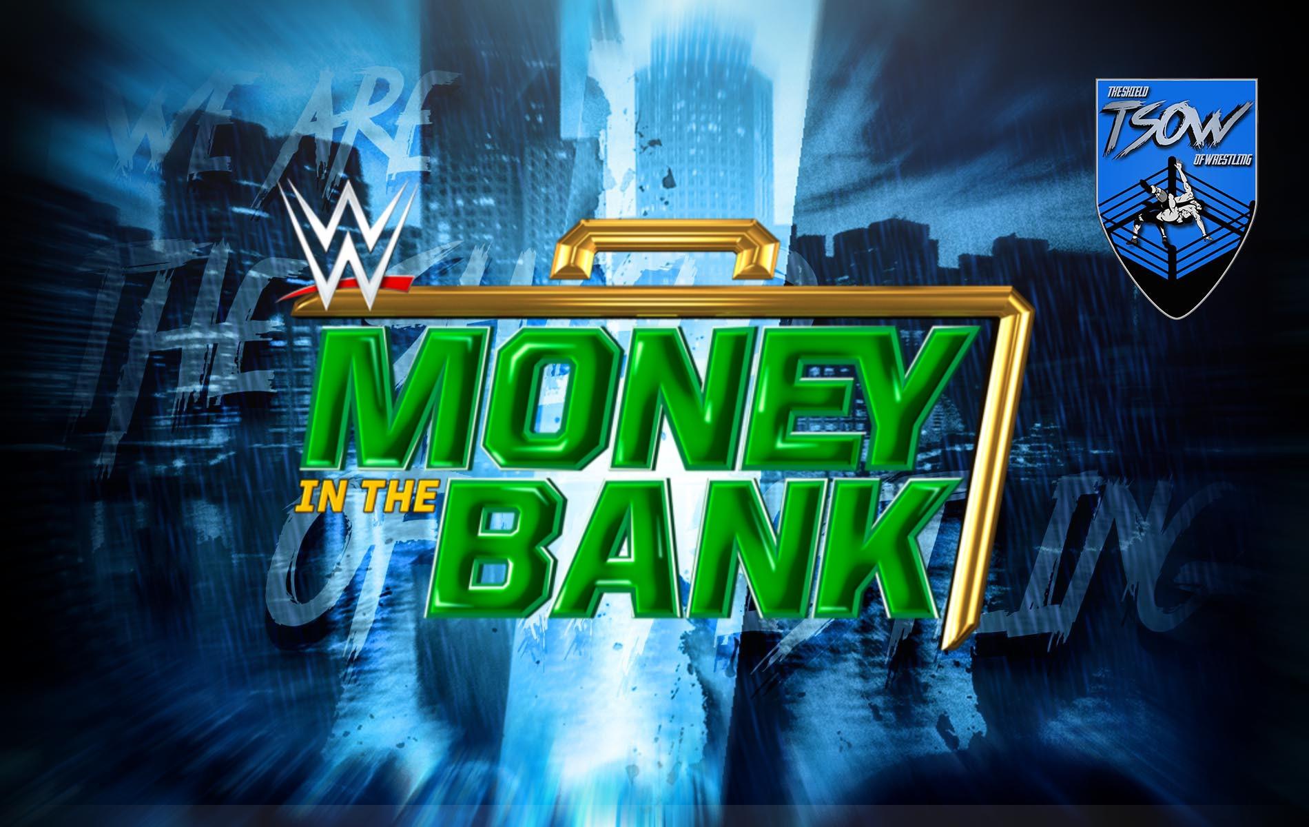 Money in the Bank annunciato ufficialmente dalla WWE